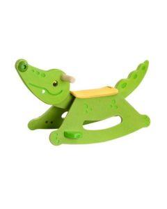 Plan Toys - Rocking Alligator - Houten schommelpaard
