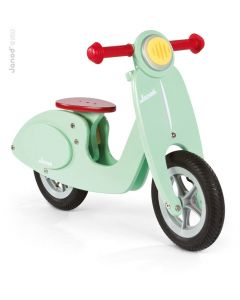 Janod - Scooter Mint - Houten loopfiets
