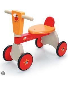 Scratch - Move-It - Racende Vliegen - Loopauto