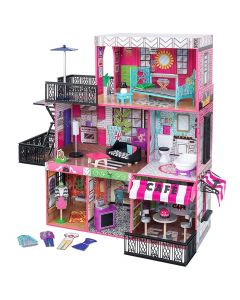 Kidkraft - Brooklyn's Loft - Poppenhuis