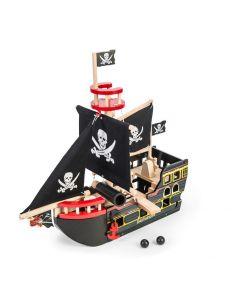 Le Toy Van - Piratenboot Barbarossa - Houten speelset