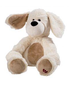 Warmies - Wit Hondje - Knuffel voor microgolf