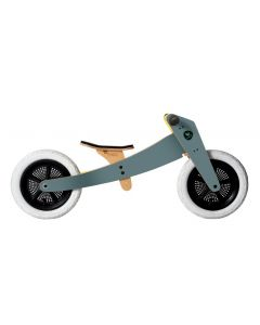 Wishbone Bike - 2-in-1 Grijs - Houten loopfiets