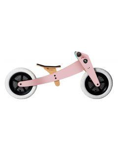 Wishbone Bike - 2-in-1 Roze - Houten loopfiets
