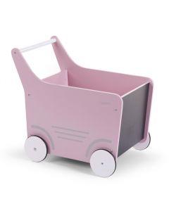 Childhome - Baby Walker - Houten Loopwagen - Roze