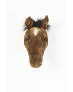 Wild & Soft - Trophy paard donker bruin Scarlett - Dierenkop