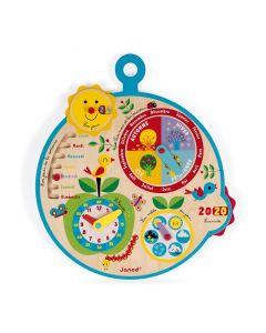 Janod - Franstalig kalender - Au fil du Temps