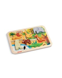 Janod - Chunky Puzzle Dierentuin