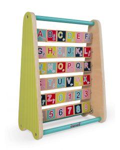 Janod - Franstalig alfabetbord
