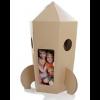Paperpod - Kartonnen Raket Bruin