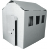 Paperpod - Kartonnen Schuur Wit