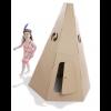 Paperpod - Kartonnen Tipi Bruin