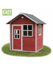 Exit - Loft 100 Red - Houten speelhuisje