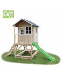 Exit - Loft 500 Natural - Houten speelhuisje