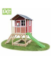 Exit - Loft 500 Red - Houten speelhuisje