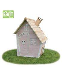 Exit - Fantasia 100 Roze - Houten speelhuisje