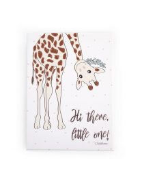 Childhome - Schilderij Mama Giraf - 30x40 cm - Voor De Kinderkamer