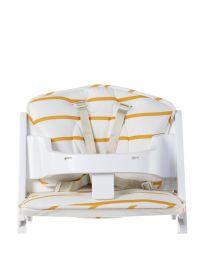 Childhome - Meegroeistoel Kussen Jersey - Ochre Stripes