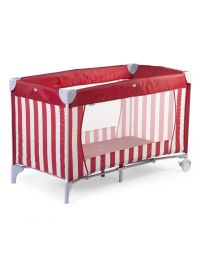 Childhome - Reisbed - Rood/Wit Gestreept