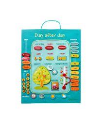 Lilliputiens - Day After Day Blue - En - Kinderkalender