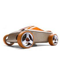 Automoblox - A9-S Convertible Oranje - Creatieve speelgoedauto