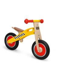 Scratch - Balance Bike S - Taxi - Houten loopfiets