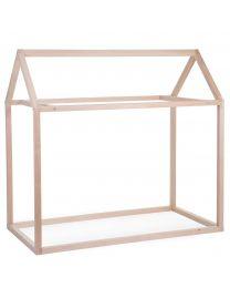 Childhome - Bedframe Huis Naturel - 70x140 cm - Hout