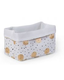 Childhome - Canvas Mand - 32x20x20 cm - Gold Dots