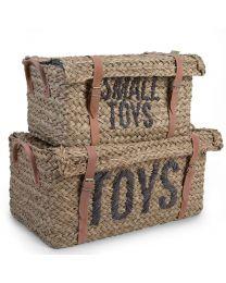 Childhome - Rattan Manden Toys en Little Toys - 2 Stuks