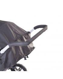 Childhome - Beschermingfoam voor Meerlingwagen CWQD en CWSIX - Zwart