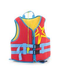 Childhome - Neoprene Zwemvest - Rood - 3 tot 6 Jaar