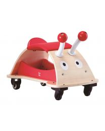 Hape - Bug About - Houten loopauto - Rood