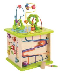 Hape - Country Critters Play Cube - Activiteitenkubus