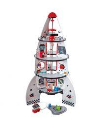 Hape - Four-Stage Rocket Ship - Ruimteraket speelset