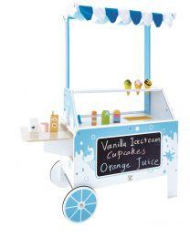 Hape - Ice Cream Emporium - Houten Kinderkeuken