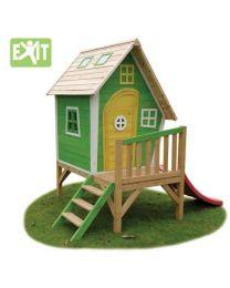 Exit - Fantasia 300 Green - Houten speelhuisje
