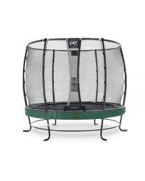 Exit - Elegant Premium Trampoline + Veiligheidsnet Deluxe - Groen