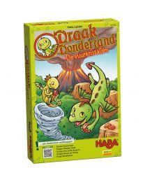 Haba - Draak Dondertand - De Vuurkristallen - Gezelschapsspel