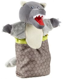 Haba - Handpop Wolf - Poppenkast