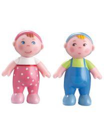 Haba - Little Friends - Poppenhuispoppen Baby's Marie En Max