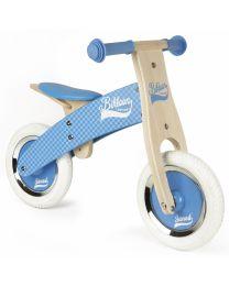 Janod - Little Bikloon Blauw - Houten loopfiets