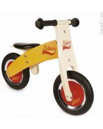 Janod - Little Bikloon Oranje - Houten loopfiets