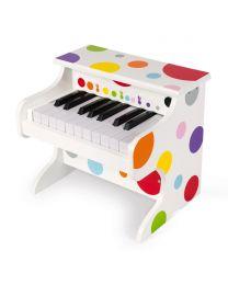 Janod - Mijn Eerste Electronische Piano Confetti