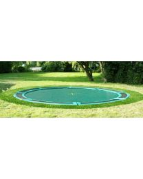Kadee - Inground Air Safe 300 Groen - Trampoline
