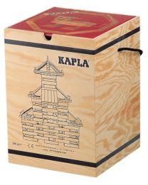 Kapla - Bouwblokjes - 280 stuks + Boek Rood