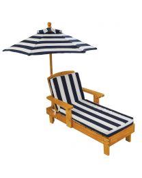 Kidkraft - Chaise Longue kinderligstoel met parasol