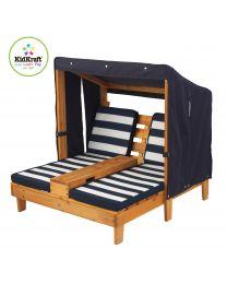 Kidkraft - Tweepersoons Chaise Longue kinderligstoel