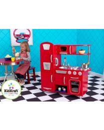 Kidkraft - Rode Vintage Kinderkeuken