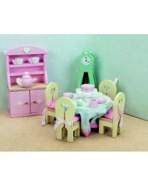Le Toy Van - Daisylane - Eetkamer - Voor poppenhuis