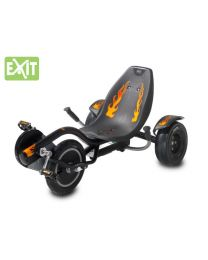 Exit - Ligfiets Rocker Black And Fire - Go cart